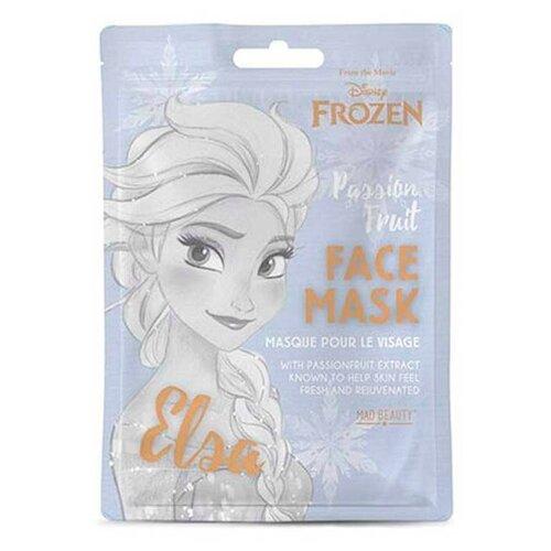 Купить Маска для лица Disney: Frozen Elsa – Увлажняющая с экстрактом маракуйа, Mad Beauty