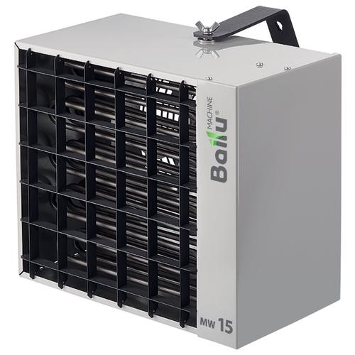 Тепловентилятор Ballu BHP-MW-15, серый алюминиевый тепловентилятор ballu bhp w2 30 sf 37000 вт серый