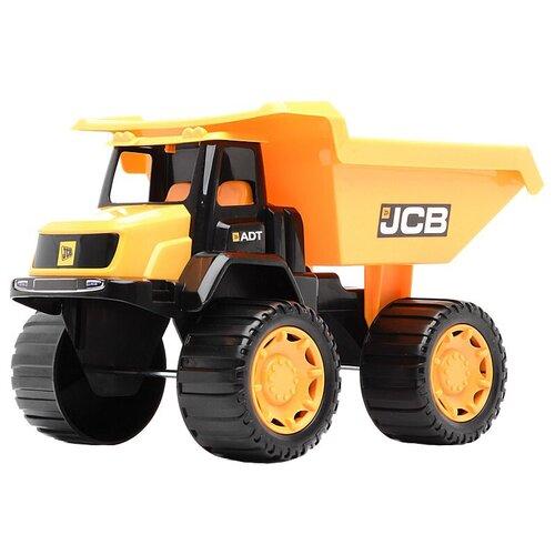 Фото - Грузовик HTI JCB (1415274.V15BX), 35 см, желтый погрузчик hti jcb 1416620 желтый