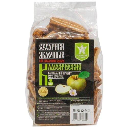 Пастила Белёвский эталон Сухарики яблочные Классические без сахара, 250 г