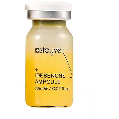 Stayve Idebenone Ampoule Сыворотка антиоксидант Идебенон для лица под мезороллер/дермапен, 1 шт x 8 мл