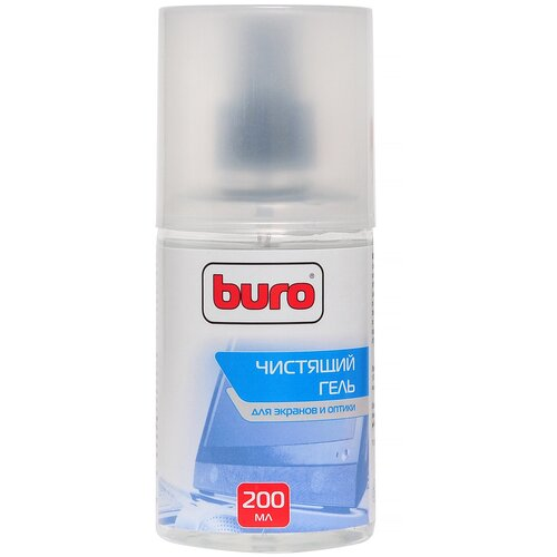 Фото - Набор Buro BU-Gscreen чистящий гель+многоразовая салфетка для экрана, для оптики гель лак для ногтей planet nails planet nails pl009lwanhe8