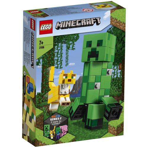 Конструктор LEGO Minecraft 21156 Крипер и Оцелот
