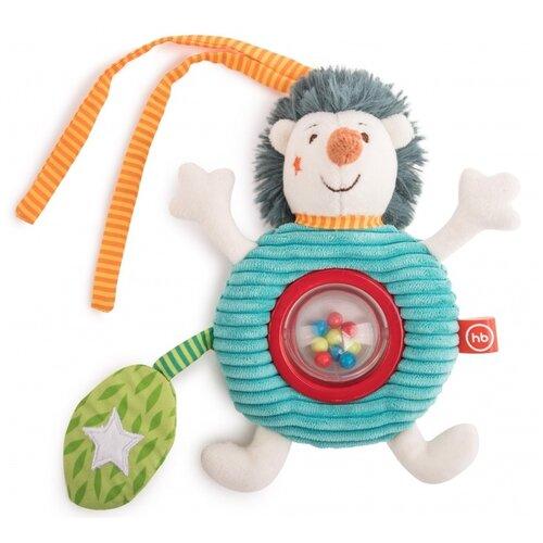 Подвесная игрушка Happy Baby Ежик Федя (330660) бежевый/голубой/зеленый, Подвески  - купить со скидкой