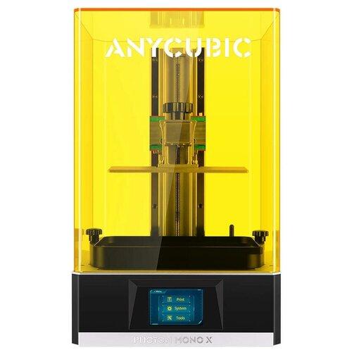 Скоростной фотополимерный 3D-принтер Anycubic Photon Mono X черный/желтый