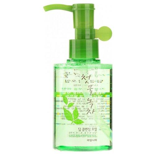 Купить Welcos гидрофильное масло для лица Green Tea Deep Cleansing Oil, 170 мл