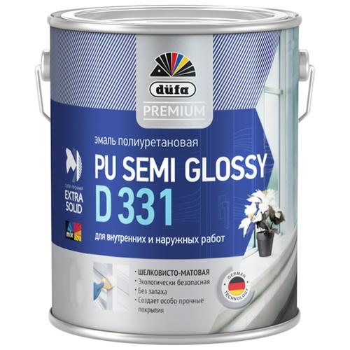 Эмаль акриловая (АК) Dufa PU Semi Glossy D 331 белый 2 л