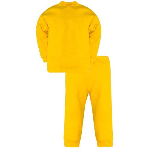 Купить Пижама детская 800п, Утенок, рост 122 см, желтый_девочка, Домашняя одежда