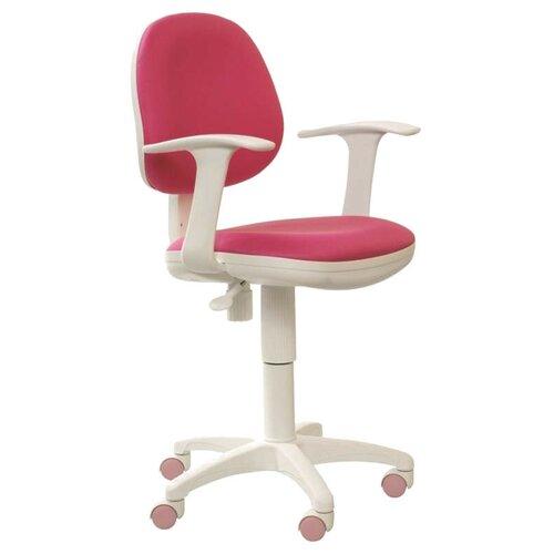 Компьютерное кресло Бюрократ CH-356AXSN детское, обивка: текстиль, цвет: розовый 15-55 компьютерное кресло rifforma comfort 32 с чехлом детское обивка текстиль цвет розовый