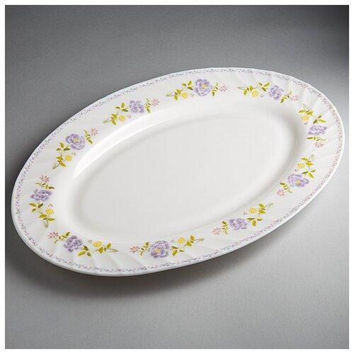 Фото - 0001L1/60-SK Блюдо овальное 35,5см Виолетта  салатник teropal 0001d9 50 sk asti 21 5 см