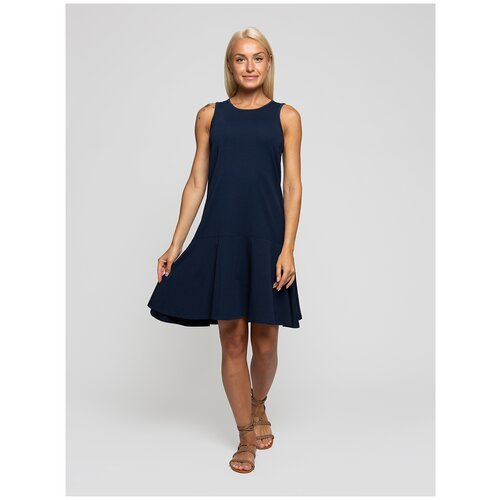 Женское легкое платье сарафан, Lunarable темно-синее, размер 42