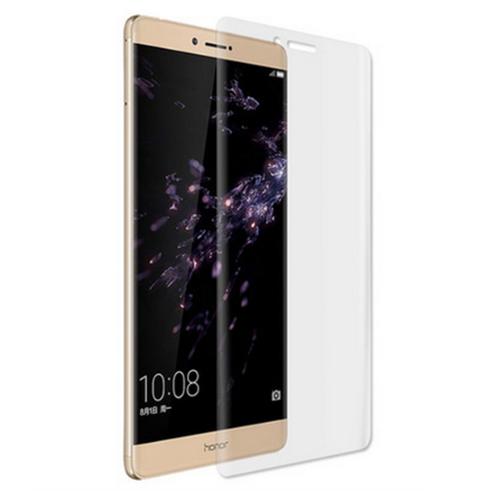 3D защитная пленка MyPads с закругленными краями которое полностью закрывает экран для телефона Huawei Honor Note 8/ EDI-AL10 глянцевая