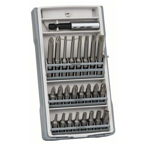 Набор бит Extra Hard 25 шт Mini X-Line Bosch 2607017037 набор отверток bosch x line 46 2 607 019 504