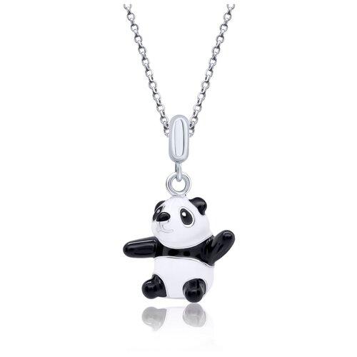 UMa & UMi Детский серебряный кулон подвеска Мишка Панда UMI Pets 319541800602