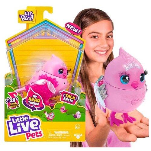 Купить Moose Little Live Pets Интерактивная птичка Твити-Тиара 26028, Роботы и трансформеры