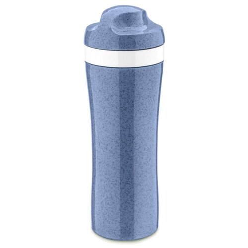 Фото - Бутылка для воды, для безалкогольных напитков Koziol OASE Organic 0.42 пластик синий бутылка для воды koziol plopp to go organic 0 42 пластик синий