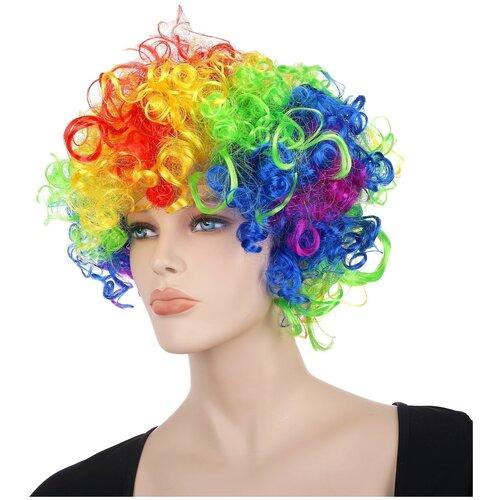 Карнавальные волосы, разноцветные