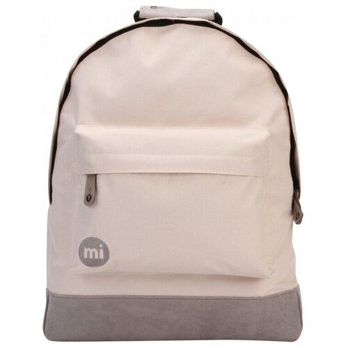 Городской рюкзак mi pac Classic 17, серый, бежевый