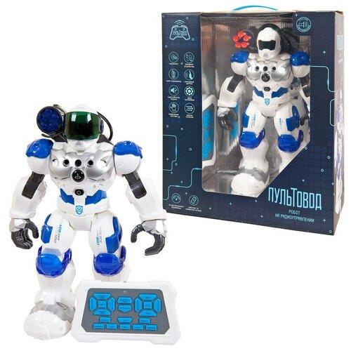 Робот на радиоуправлении JUNFA Пультовод свет, звук, движение, в коробке, 32х15х37 см. роботы junfa робот на радиоуправлении пультовод
