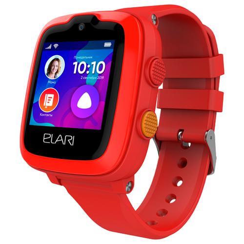 Детские умные часы ELARI KidPhone 4G, красный недорого