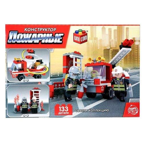 Конструктор UNICON Пожарные 5164174 Пожарная бригада