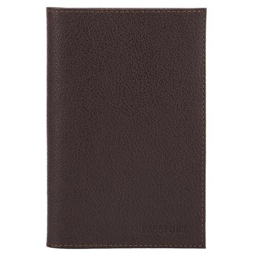 Обложка для паспорта FABULA Largo O.1.LG, коричневый