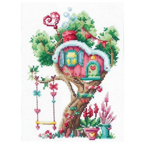 Купить Набор для вышивания Сделай своими руками серия: Дома на деревьях, Сладкий , 12*17, 5 см (72931357194), Наборы для вышивания
