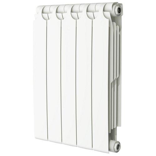 Радиатор секционный биметаллический Теплоприбор BR1-500, кол-во секций: 11, 880 мм. подключение: универсальное боковое