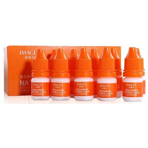Images Beauty Natural Look Serum Питательная осветляющая сыворотка для лица с гиалуроновой кислотой, 5 мл , 10 шт.