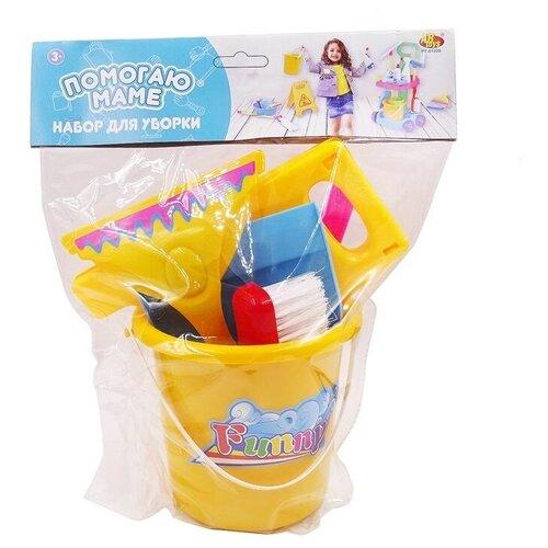 Фото - Игровой набор ABtoys Помогаю маме PT-01226 желтый/красный/голубой/розовый набор abtoys помогаю маме pt 01342 розовый белый