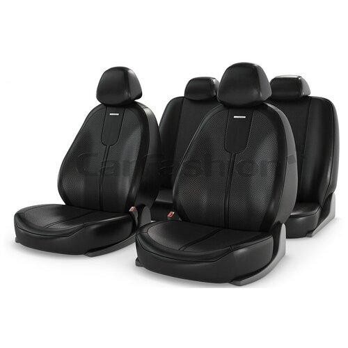 Чехлы на сиденье Gals, черные CarFashion 11061