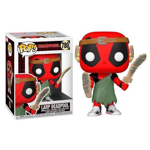 фигурка funko pop bobble marvel deadpool 30th larp deadpool 54690 Фигурка Funko POP! Marvel: Deadpool 30th: LARP Deadpool