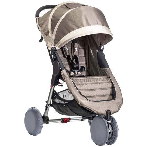 чудо чадо чехлы на колеса для коляски диаметр 18 28 см цвет васильковый 2 шт Чехлы на колеса для детской коляски на резинке ROXY-KIDS, 4 шт. цвет серый
