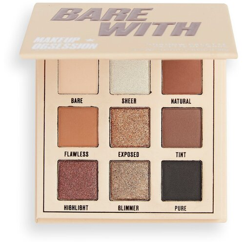 Makeup Obsession Палетка теней для век 9 цветов bare with