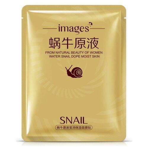 Images Увлажняющая тканевая маска для лица с муцином улитки и гиалуроновой кислотой, 30 г недорого