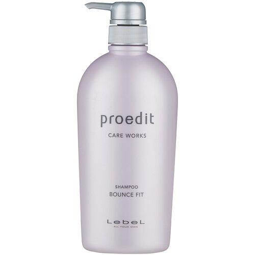 Купить Lebel Cosmetics шампунь Proedit Care Works Bounce Fit, 700 мл