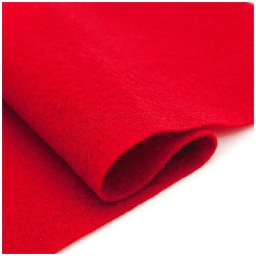Купить 61212665 Фетр для творчества, темно-красный, 2мм, 20x30см, уп./1шт. Glorex, Валяние