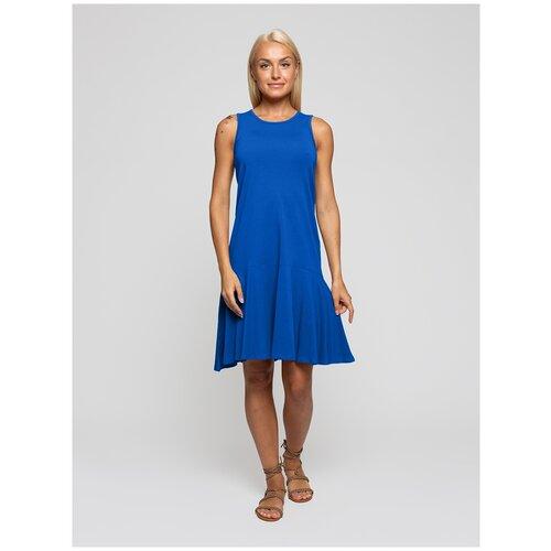 Женское легкое платье сарафан, Lunarable васильковое, размер 44