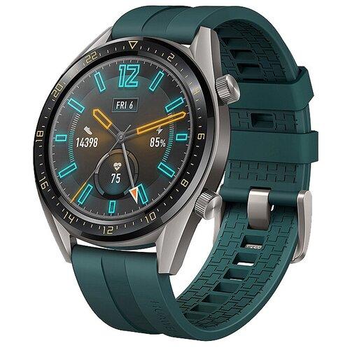 Умные часы HUAWEI Watch GT Active, зеленый умные часы huawei watch gt active dark green