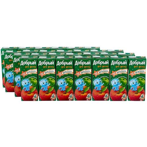 Фото - Сок Добрый для детей Яблоко-Персик, без сахара, 0.2 л, 27 шт. добрый сок мультифрукт добрый