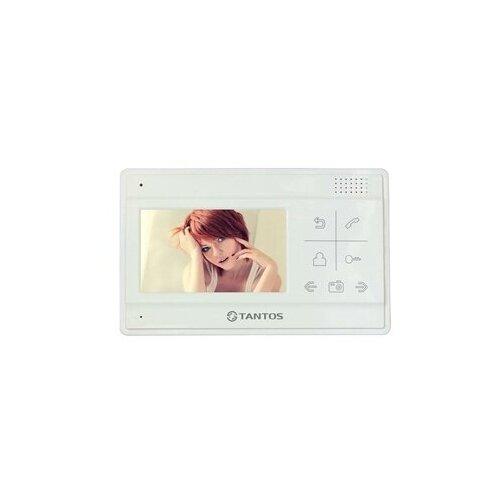 Фото - Домофон (переговорное устройство) TANTOS LILU белый (дверная станция) домофон переговорное устройство tantos lilu sd белый домофон