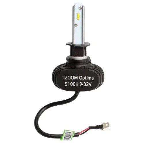 Лампа автомобильная светодиодная Optima i-Zoom i-H1 H1 9-32V 19.2W 2 шт.