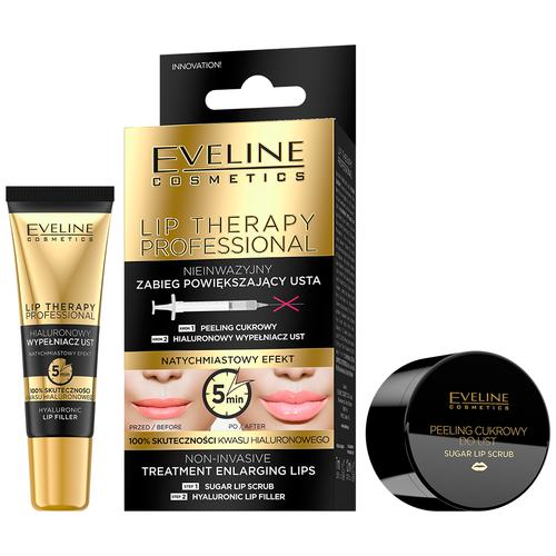 Eveline Cosmetics Набор для увеличения объема губ Lip therapy professional 2 шт. набор для бровей eveline all in one professional 02