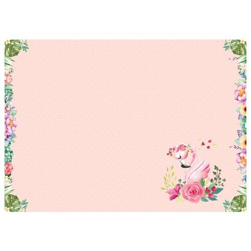 Купить Настольное покрытие ArtSpace Flamingo (311391) розовый, Аксессуары