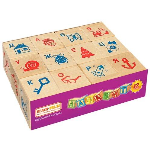 Кубики Теремок (Пелси) Алфавит и рисунок И674