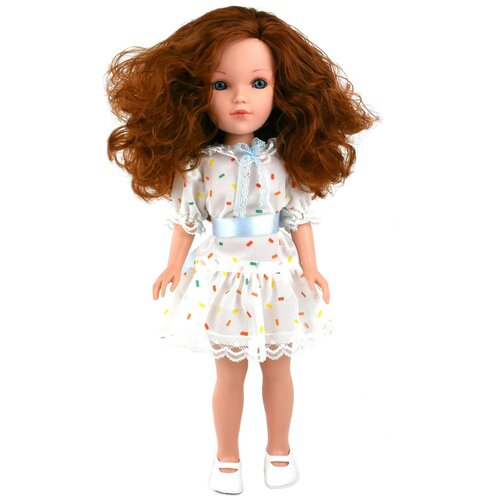 Купить Кукла Vidal Rojas Мари кудрявая рыжеволосая (в подарочной коробке), 41 см, 4506, Куклы и пупсы