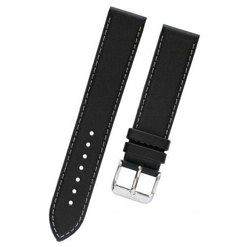 T600029589 Черный кожаный ремешок из кожи теленка для часов TISSOT PR 100, T-CLASSIC - T049.407, T049.410,T049.417, T065.430 0 pr на 100