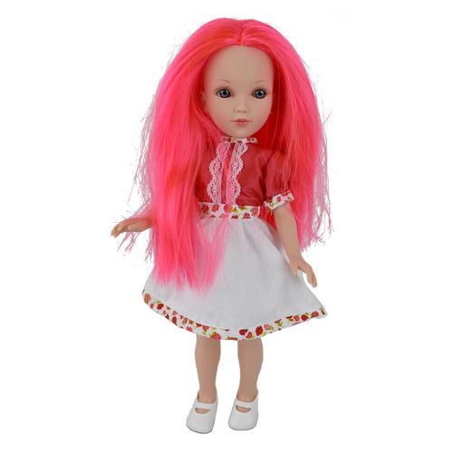 Кукла Vidal Rojas Мари с розовыми волосами (в подарочной коробке), 41 см, 4504, Куклы и пупсы  - купить со скидкой