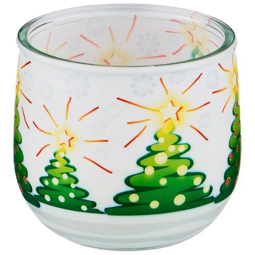 Свеча Adpal Зима, диаметр 7,5 см, высота 7 см (348-664)