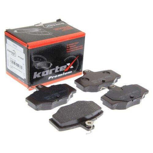 Дисковые тормозные колодки задние KORTEX KT3092T для Nissan Almera, Nissan Primera (4 шт.)